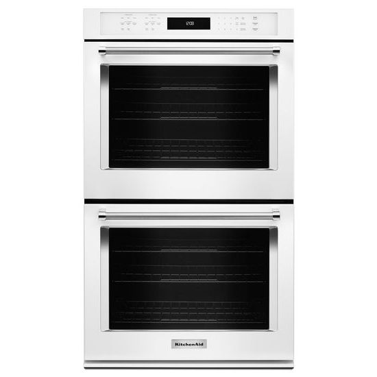 "Model: KODE507EWH | KitchenAid 27"" Double Wall Oven with Even-Heat™  True Convection"