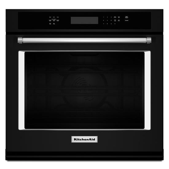 "Model: KOSE500EBL | KitchenAid 30"" Single Wall Oven with Even-Heat™ True Convection"