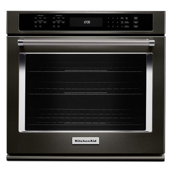 "KitchenAid 30"" Single Wall Oven with Even-Heat™ True Convection"