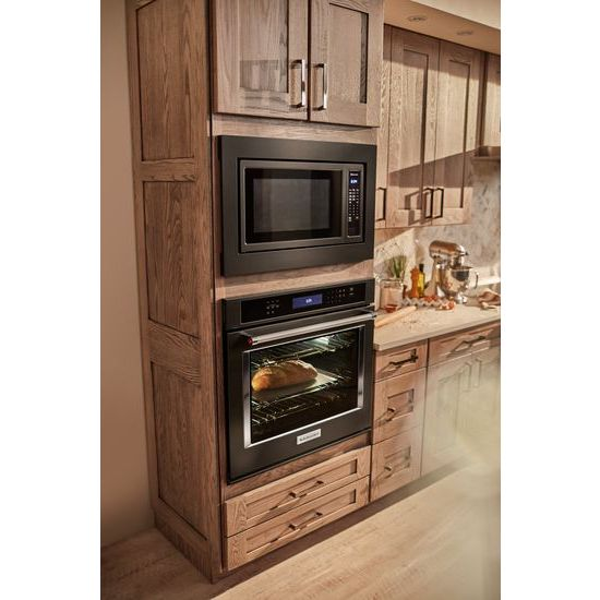 "Model: KOSE500EBS | KitchenAid 30"" Single Wall Oven with Even-Heat™ True Convection"