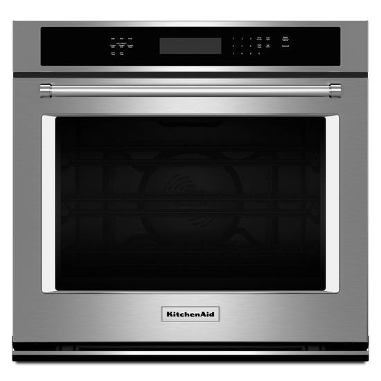 "KitchenAid 27"" Single Wall Oven with Even-Heat™ True Convection"