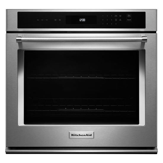 "KitchenAid 30"" Single Wall Oven with Even-Heat™ Thermal Bake/Broil"