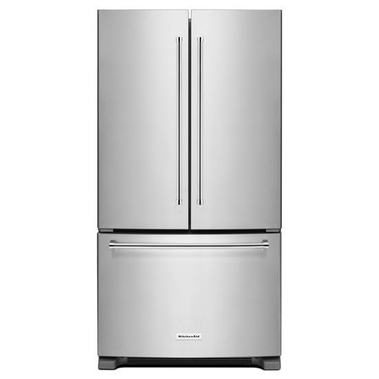 25 Cu. Ft. 36-Width Standard Depth French Door Refrigerator with Interior Dispense
