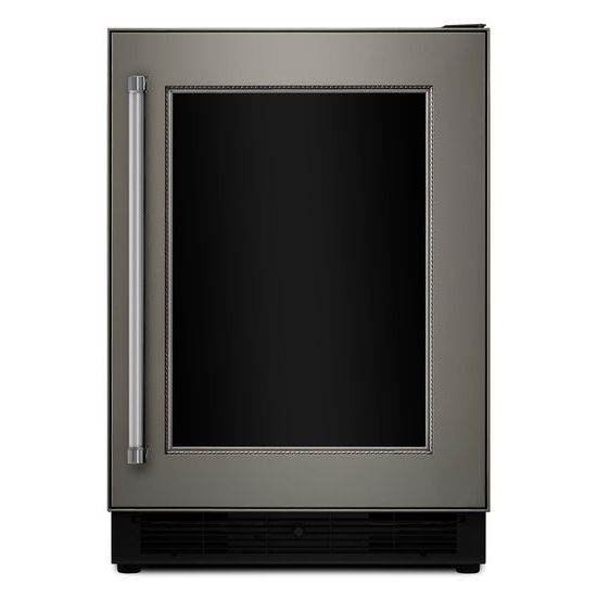 "Model: KUBR204EPA | KitchenAid 24"" Panel Ready Beverage Center with Glass Door"