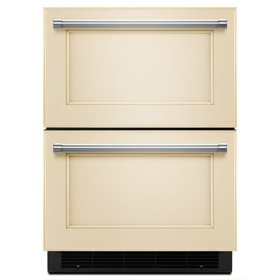 "KitchenAid 24"" Panel Ready Double Refrigerator Drawer"
