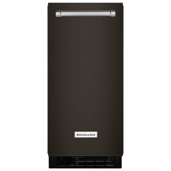 Model: KUIX535HBS | KitchenAid KitchenAid® 15'' Automatic Ice Maker with PrintShield™ Finish