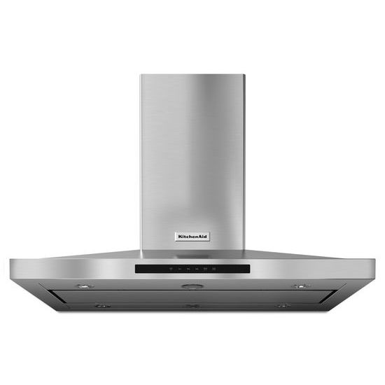 KitchenAid 42'' Island-Mount, 3-Speed Canopy Hood