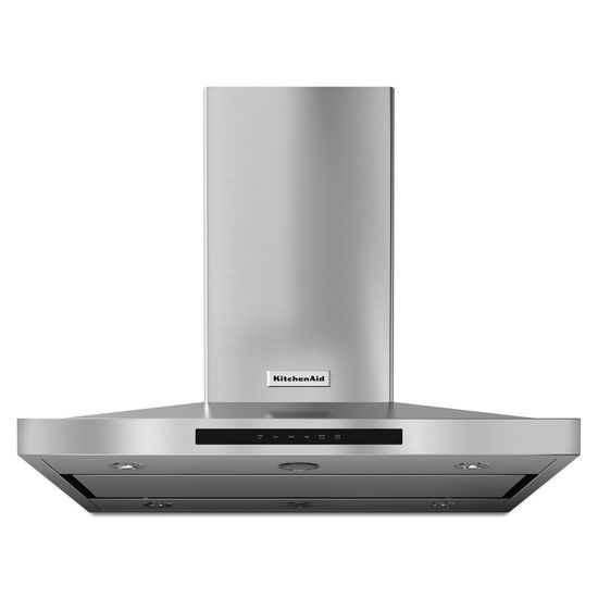 "Model: KVIB606DSS | KitchenAid 36"" Island-Mount, 3-Speed Canopy Hood"