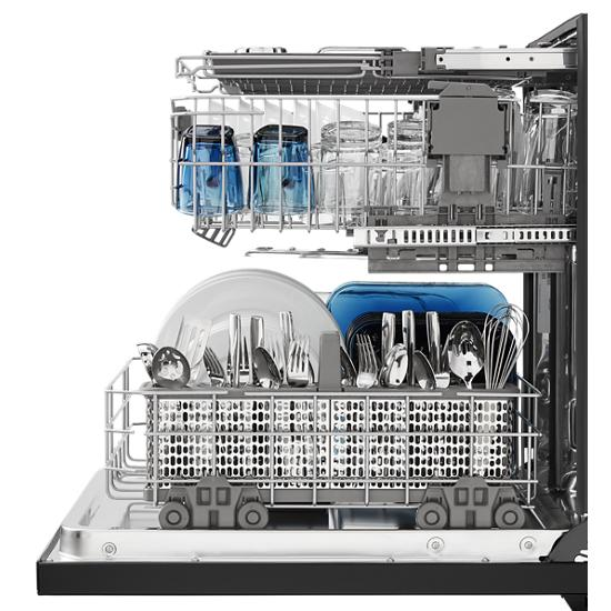 Model: MDB8989SHB | Top Control Dishwasher with PowerDry Options and Third Level Rack