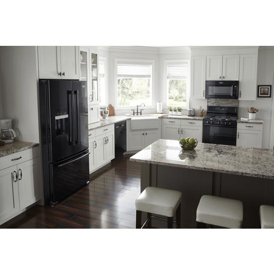 Model: MDB8989SHB | Maytag Top Control Dishwasher with PowerDry Options and Third Level Rack