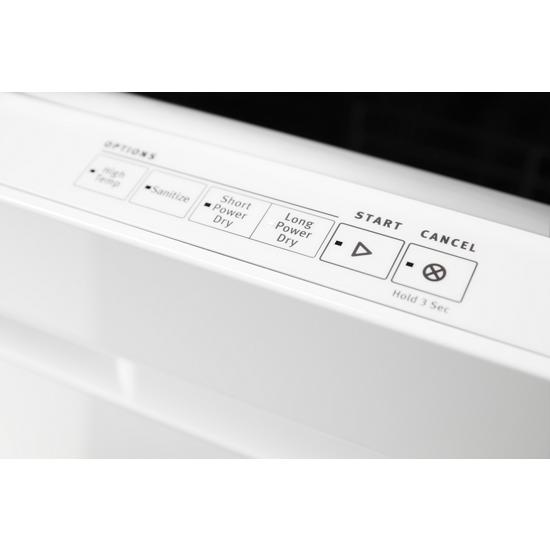 Model: MDB8989SHW | Top Control Dishwasher with PowerDry Options and Third Level Rack