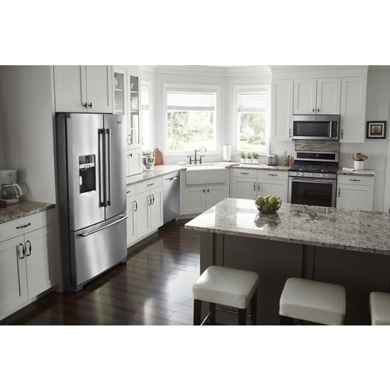 Model: MDB8989SHZ | Maytag Top Control Dishwasher with PowerDry Options and Third Level Rack