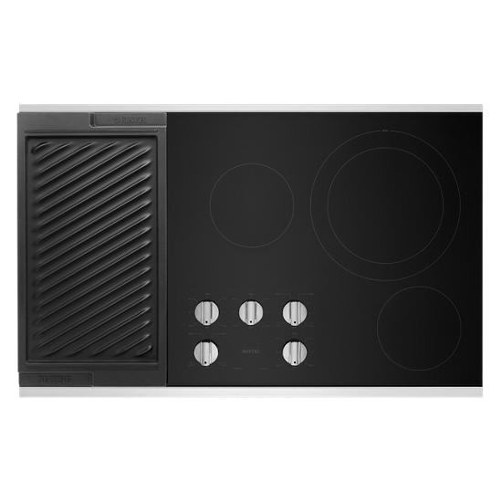 Model: MEC8836HS | Maytag 36-Inch Electric Cooktop with Reversible Grill and Griddle