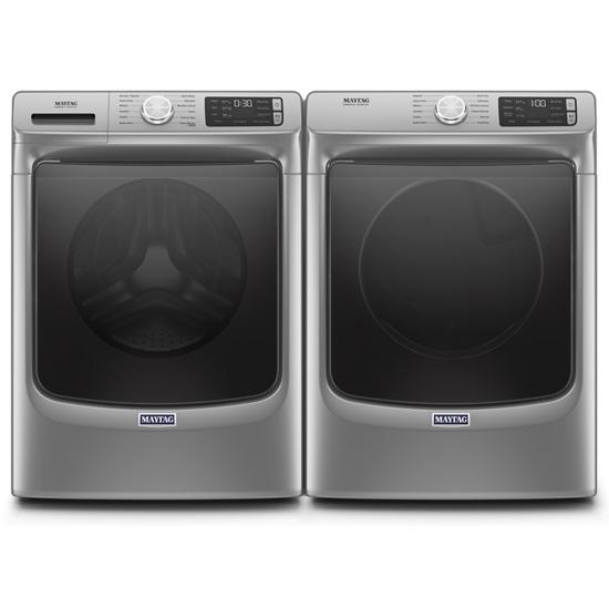 Model: MED6630HC | Maytag Front Load Electric Dryer with Extra Power and Quick Dry Cycle - 7.3 cu. ft.