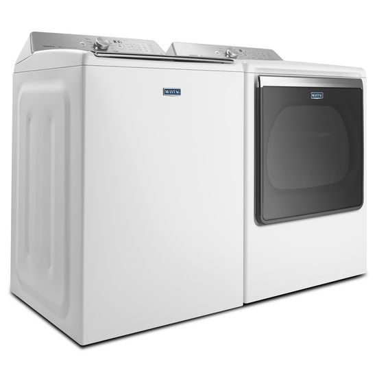 Model: MEDB835DW | 8.8 cu. ft. Extra-Large Capacity Dryer with Advanced Moisture Sensing