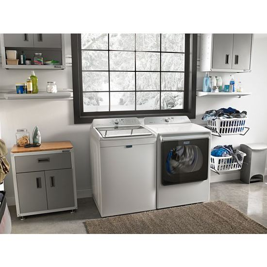 Model: MEDB835DW | Maytag 8.8 cu. ft. Extra-Large Capacity Dryer with Advanced Moisture Sensing