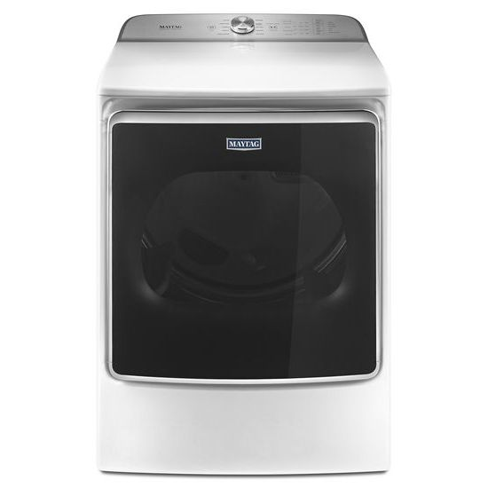 Model: MEDB955FW | Maytag Top Load Dryer with the PowerDry System and Extra Moisture Sensor – 9.2 cu. ft.