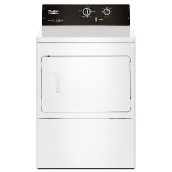 Model: MEDP575GW | Maytag 7.4 cu. ft. Commercial-Grade Residential Dryer