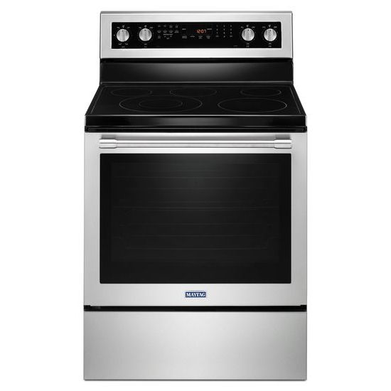 Maytag 30-Inch Wide Electric Range With True Convection And Power Preheat - 6.4 Cu. Ft.