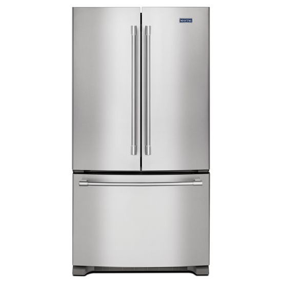 Model: MFC2062FEZ | Maytag 36- Inch Wide Counter Depth French Door Refrigerator - 20 Cu. Ft.