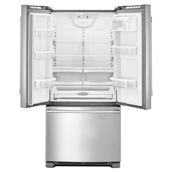 Model: MFF2258FEZ | Maytag 33-Inch Wide French Door Refrigerator - 22 Cu. Ft.