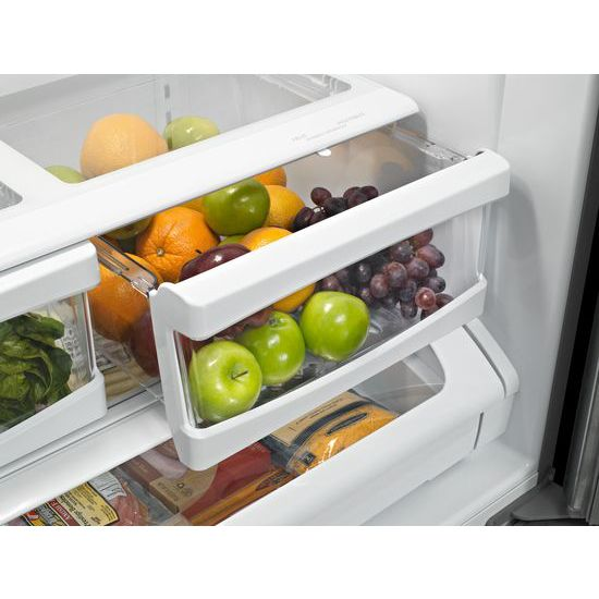 Model: MFF2558FEZ | Maytag 36-Inch Wide French Door Refrigerator - 25 Cu. Ft.
