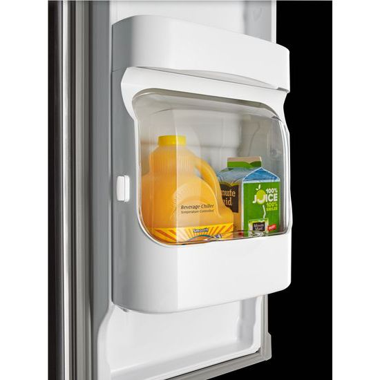 Model: MFI2269FRW | Maytag 33- Inch Wide French Door Refrigerator with Beverage Chiller™ Compartment - 22 Cu. Ft.