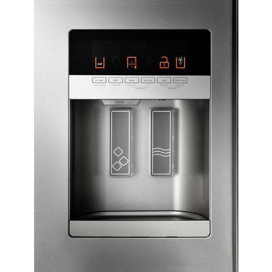 Model: MFI2570FEZ | 36- Inch Wide French Door Refrigerator with PowerCold® Feature - 25 Cu. Ft.