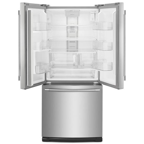 Model: MFW2055FRZ | Maytag 30-Inch Wide French Door Refrigerator with Exterior Water Dispenser- 20 Cu. Ft.