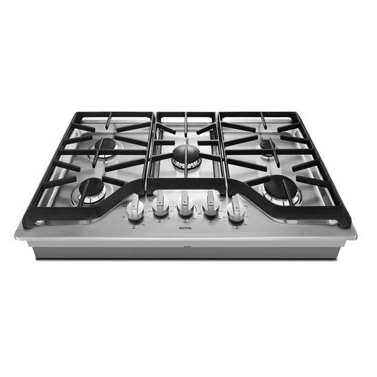 Model: MGC9536DS | Maytag 36-inch Wide Gas Cooktop with DuraGuard™ Protective Finish