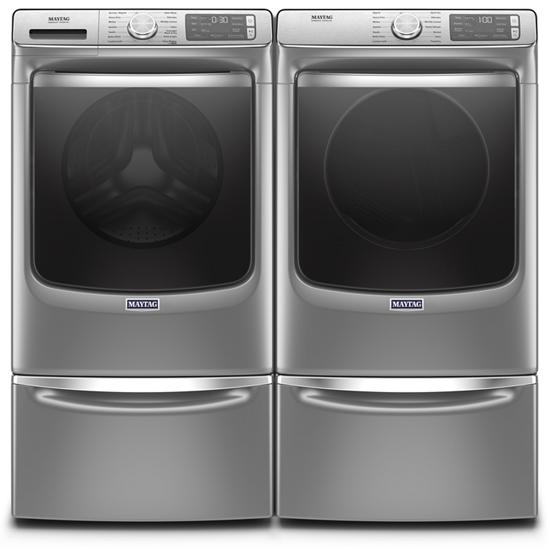 Model: MGD8630HC | Maytag Smart Front Load Gas Dryer with Extra Power and Advanced Moisture Sensing with industry-exclusive extra moisture sensor - 7.3 cu. ft.