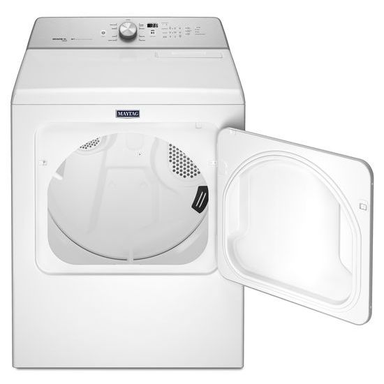 Model: MGDB766FW | Maytag Large Capacity Gas Dryer with Steam-Enhanced Cycles – 7.0 cu. ft.