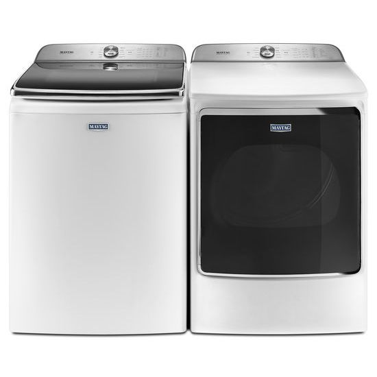 Model: MGDB955FW | Maytag Extra-Large Capacity Gas Dryer with Extra Moisture Sensor – 9.2 cu. ft.