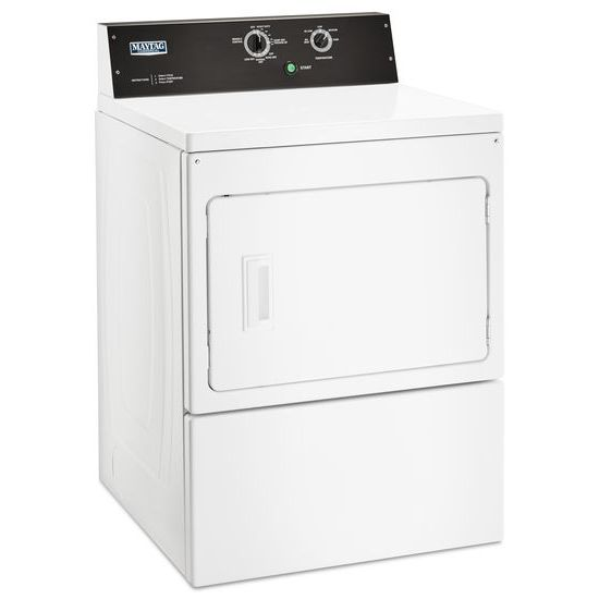 Model: MGDP575GW | Maytag 7.4 cu. ft. Commercial-Grade Residential Dryer