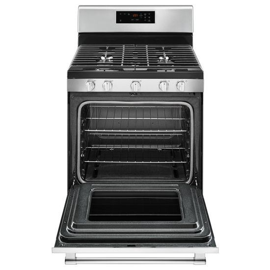 Model: MGR6600FZ | Maytag 30-inch Wide Gas Range With 5th Oval Burner - 5.0 Cu. Ft.