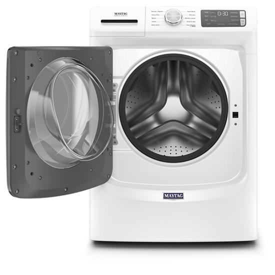 Model: MHW5630HW | Maytag Front Load Washer with Extra Power and 12-Hr Fresh Spin™ option - 4.5 cu. ft.
