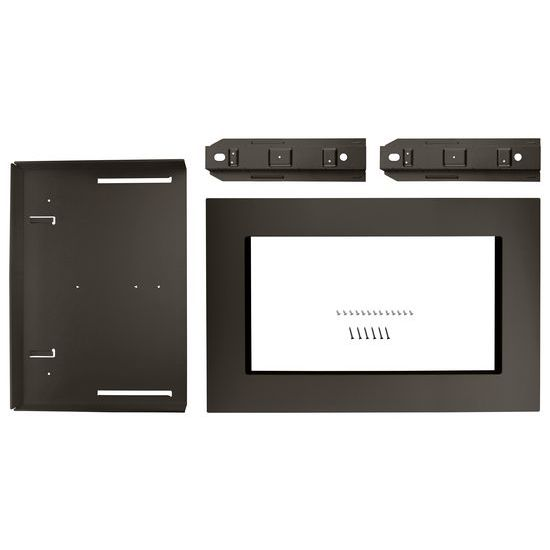 """Unbranded 30"""" Trim Kit for 1.5 cu. ft. Countertop Microwave Oven with Convection Cooking"""