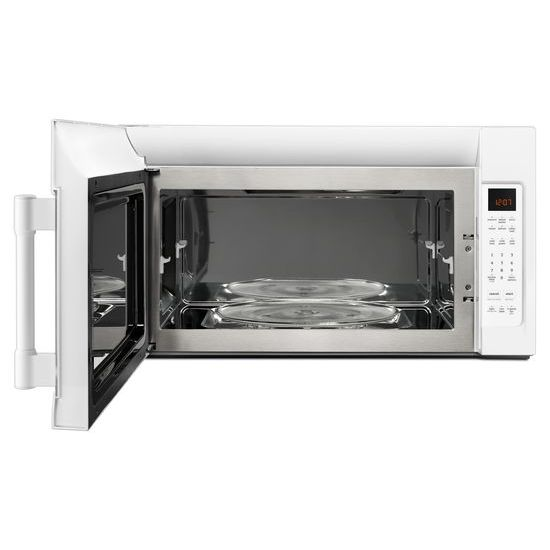 Model: MMV4206FW | Maytag Over-The-Range Microwave With Interior Cooking Rack - 2.0 Cu. Ft.