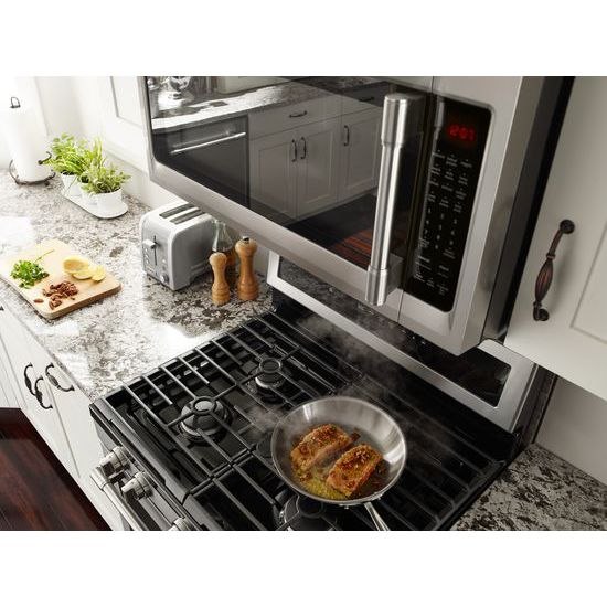 Model: MMV5220FZ | Maytag Over-The-Range Microwave With WideGlide™ Tray - 2.1 Cu. Ft.