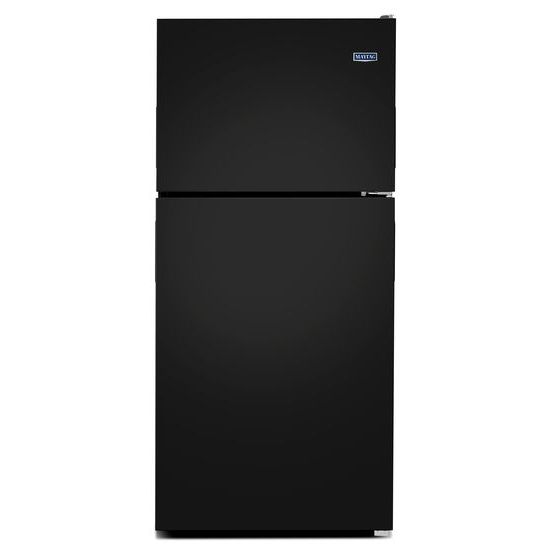 Maytag 30-Inch Wide Top Freezer Refrigerator with PowerCold® Feature- 18 Cu. Ft.