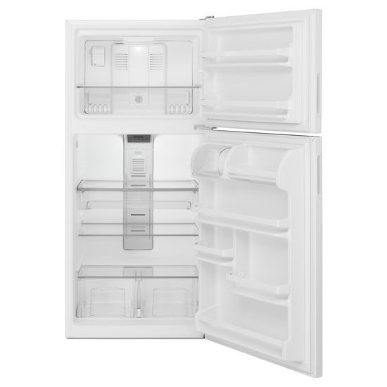 Model: MRT118FFFH | Maytag 30-Inch Wide Top Freezer Refrigerator with PowerCold® Feature- 18 Cu. Ft.