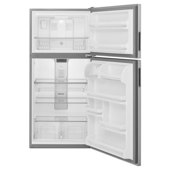 Model: MRT118FFFM | Maytag 30-Inch Wide Top Freezer Refrigerator with PowerCold® Feature- 18 Cu. Ft.