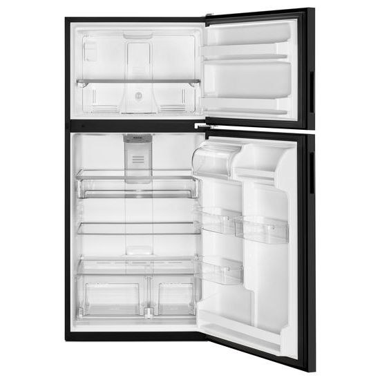 Model: MRT311FFFE | Maytag 33-Inch Wide Top Freezer Refrigerator with PowerCold® Feature- 21 Cu. Ft.