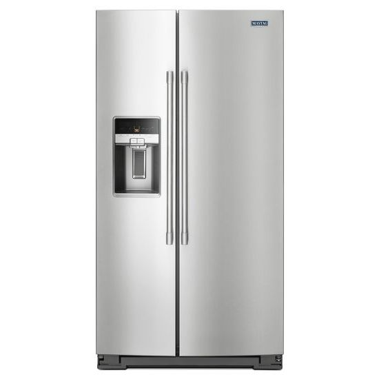 Model: MSC21C6MFZ | Maytag 36- Inch Wide Counter Depth Side-by-Side Refrigerator- 21 Cu. Ft.