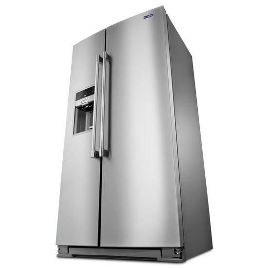 Model: MSC21C6MFZ   36- Inch Wide Counter Depth Side-by-Side Refrigerator- 21 Cu. Ft.