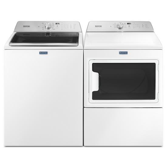 Model: MVWB765FW | Maytag Top Load Washer with the Deep Fill Option and PowerWash® Cycle – 4.7 cu. ft.