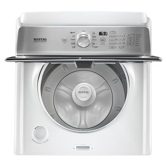 Model: MVWB766FW | Maytag Top Load Washer with the Deep Fill Option and PowerWash® Cycle – 4.7 cu. ft.