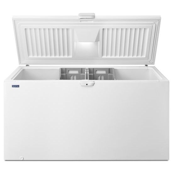 Model: MZC3122FW | Maytag 22 cu. ft. Chest Freezer with Door Lock