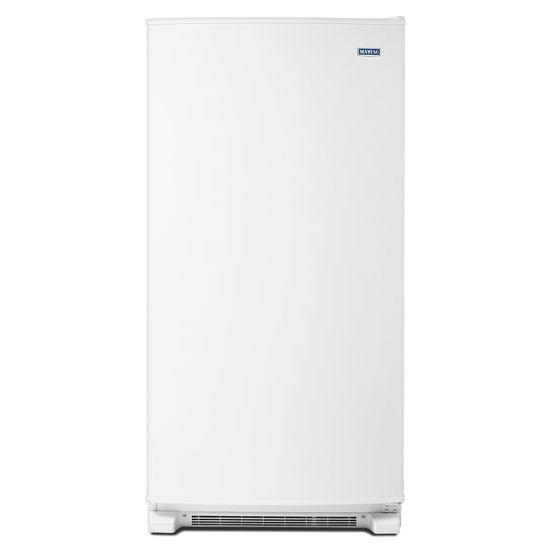 Model: MZF34X20DW | Maytag 20 cu. ft. Frost Free Upright Freezer with LED Lighting