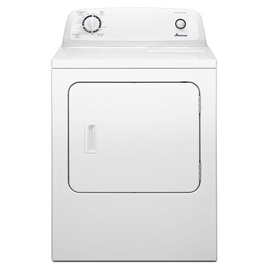 Amana 6.5 cu. ft. Electric Dryer with Wrinkle Prevent Option